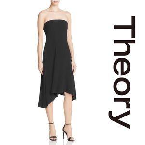 Theory Trelle Rosin Crepe Dress*NWT